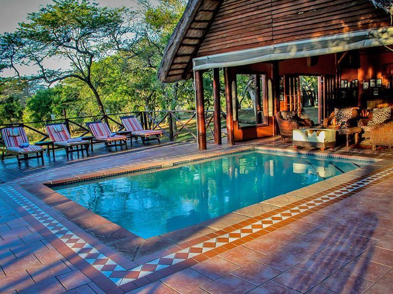 Thula Thula Safari Lodge Kwazulu Natal Rhino Africa